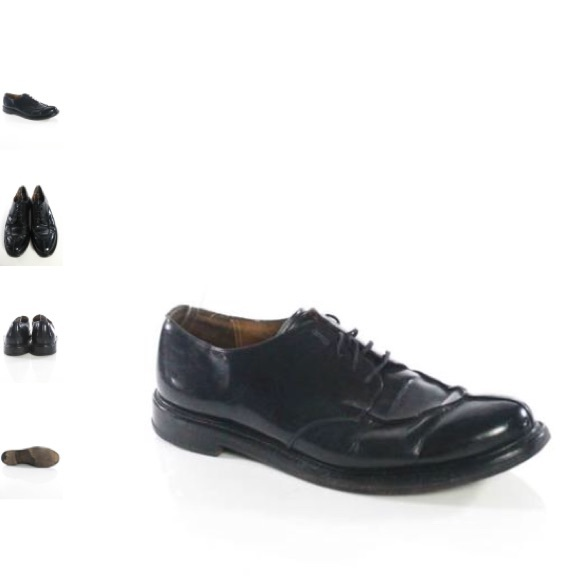 Church's Other - CHURCH'S MENS BLACK LEATHER OXFORD SIZE 50
